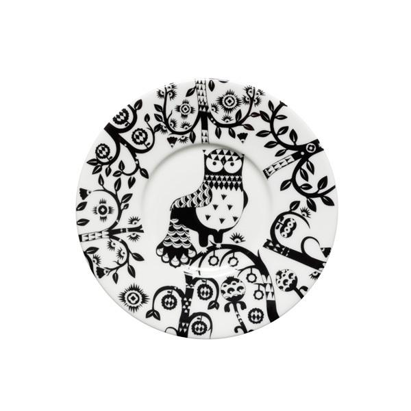 Iittala Taika saucer 15 cm, black