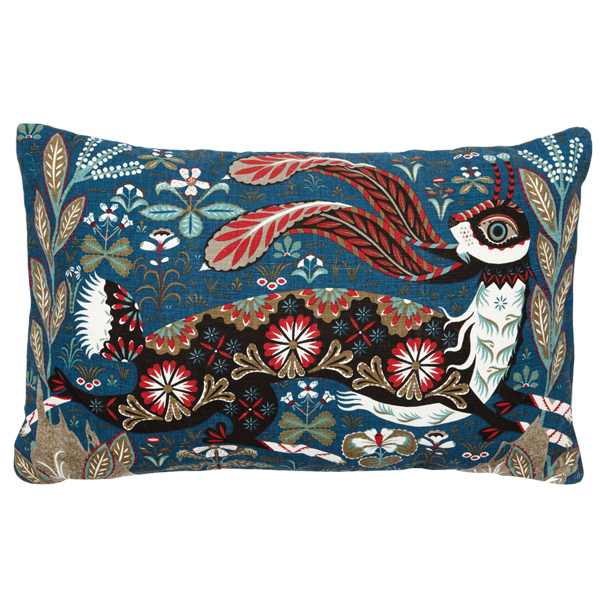 Klaus Haapaniemi Running Hare cushion cover, linen