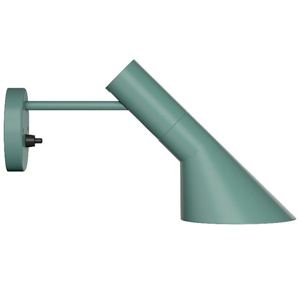 Louis Poulsen AJ wall lamp, light petrol