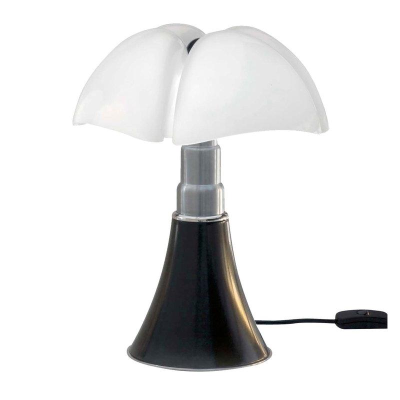 Martinelli Luce Minipipistrello table lamp, dimmable, dark brown