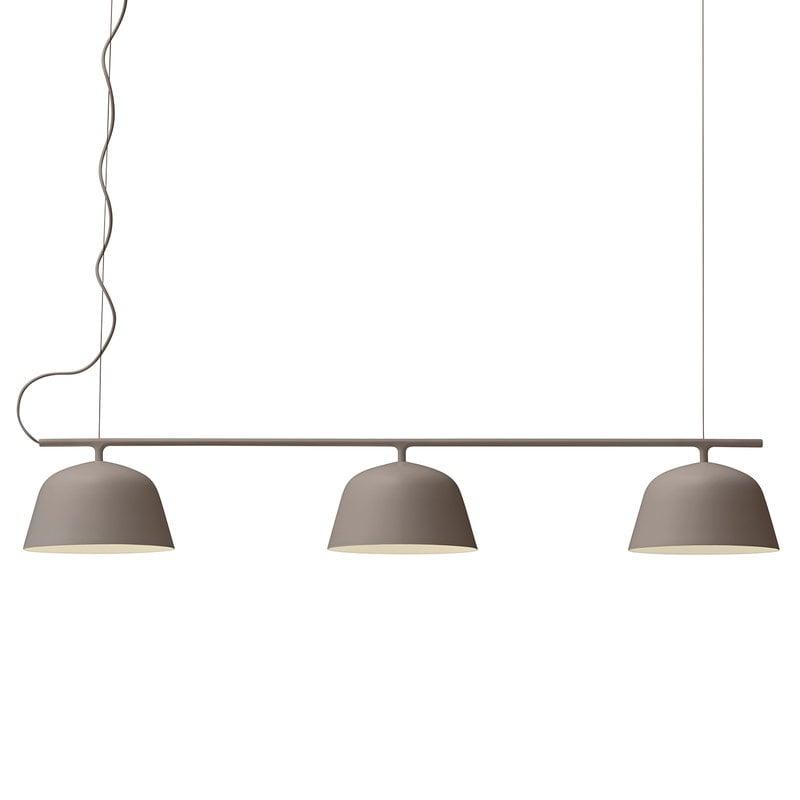 Muuto Ambit Rail lamp, taupe