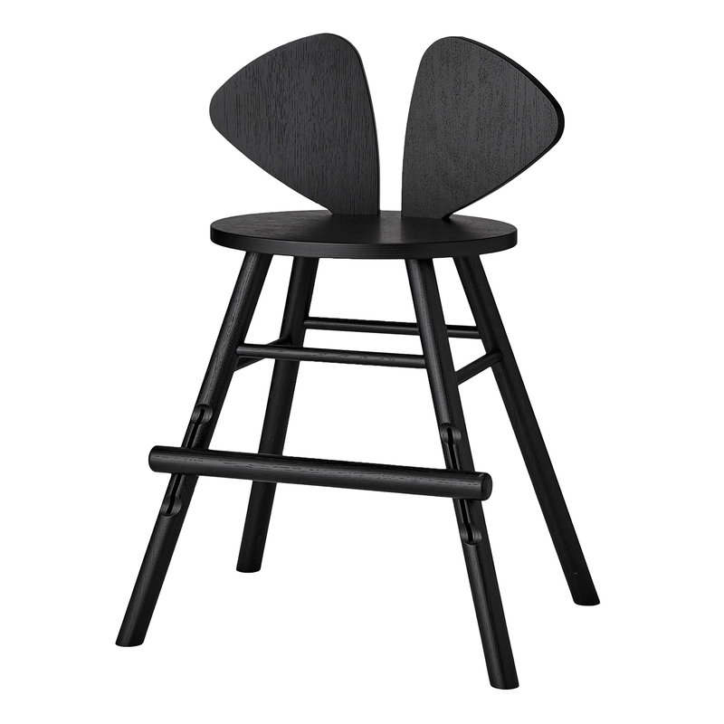 Nofred Mouse junior chair, black