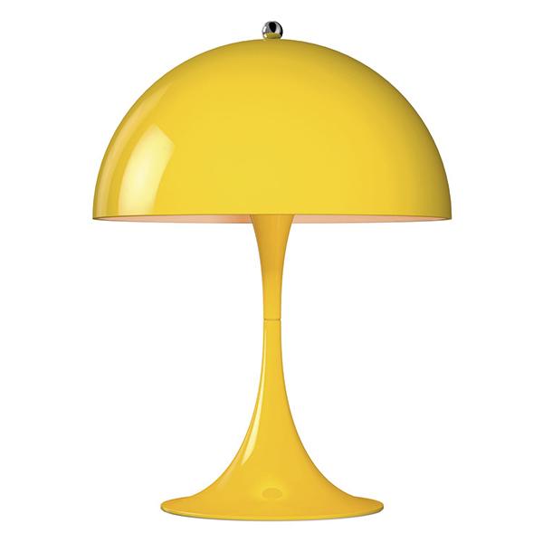 Louis Poulsen Lampada da tavolo Panthella Mini, gialla