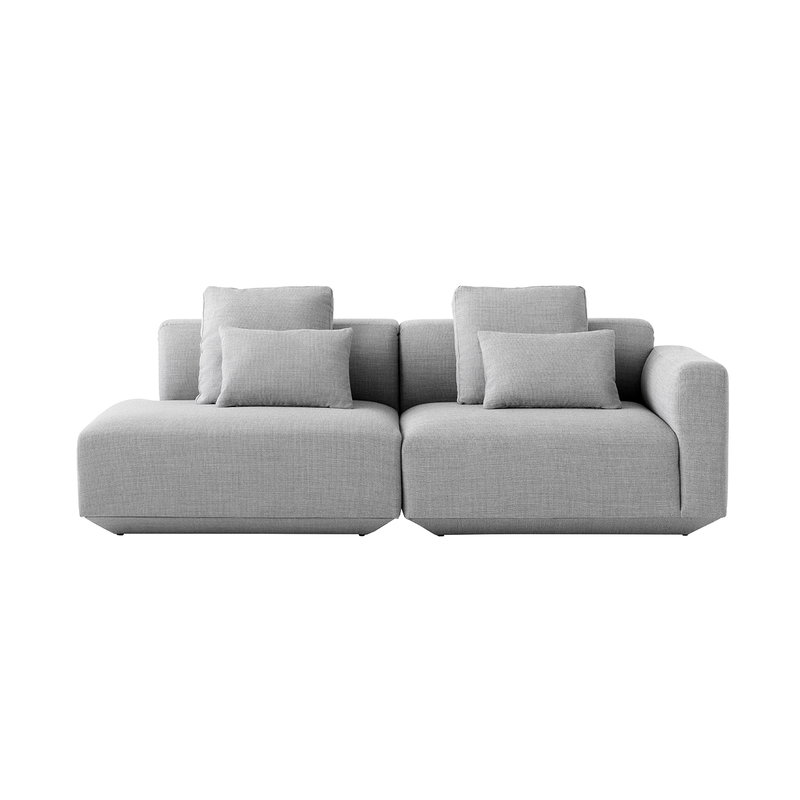 &Tradition Develius H modular sofa with cushions, Fiord 151