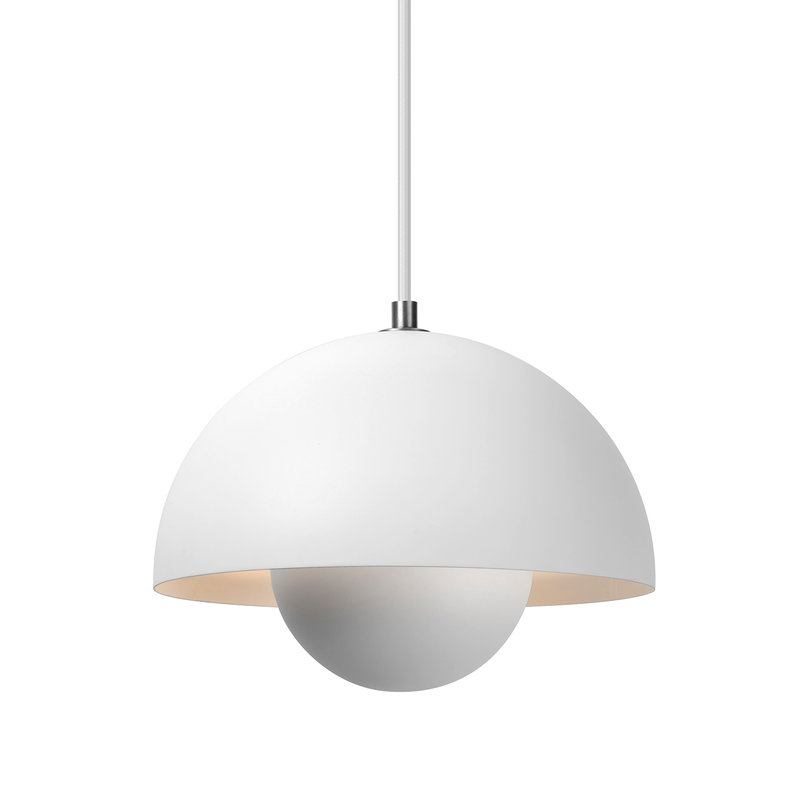 &Tradition Flowerpot VP1 pendant, matt white