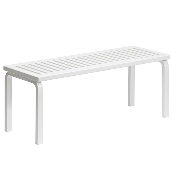 Artek Aalto bench 153A, white
