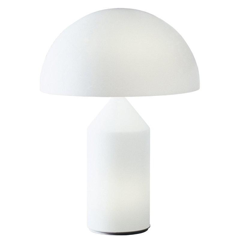 Oluce Lampada da tavolo Atollo 235, bianca