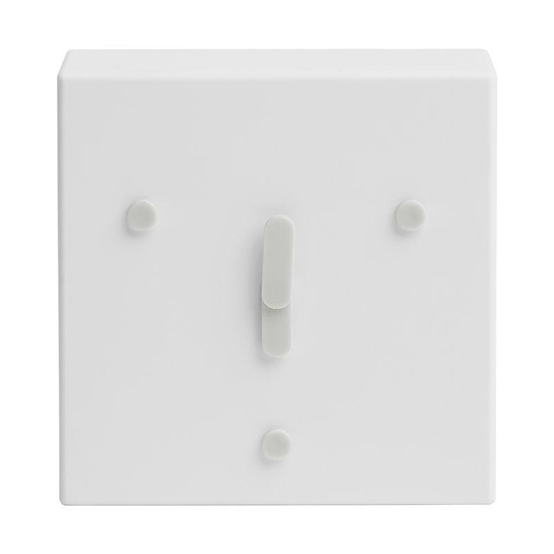 EO Face Clock 2-6-10, white