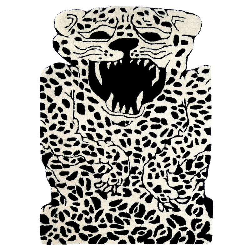 EO Leopard rug