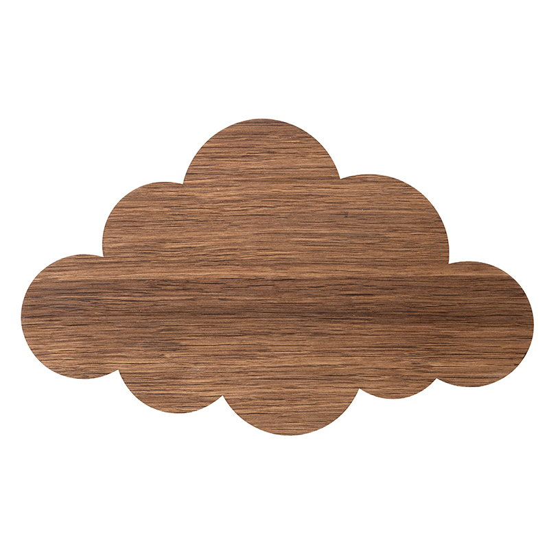 Ferm Living Cloud wall lamp, smoked oak