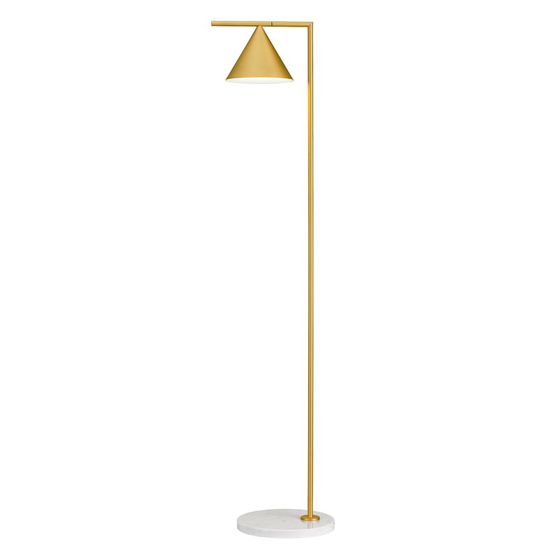 Flos Captain Flint floor lamp, brass