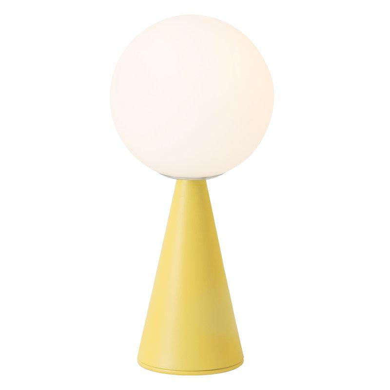 FontanaArte Bilia Mini pöytävalaisin, keltainen