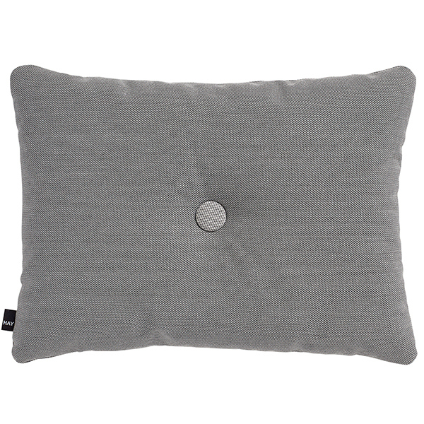 Hay Dot cushion, Steelcut Trio, dark grey