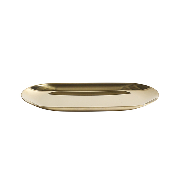 Hay Tray, oblong, S, golden