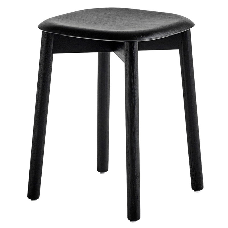 Hay Soft Edge 72 stool, black