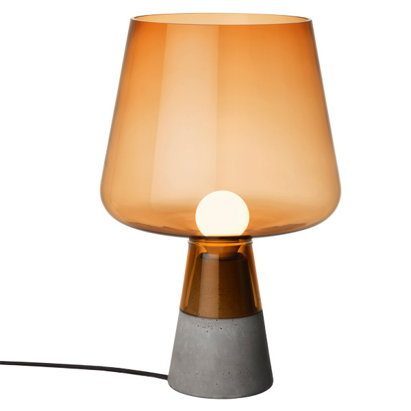Iittala Leimu table lamp 38 cm, copper
