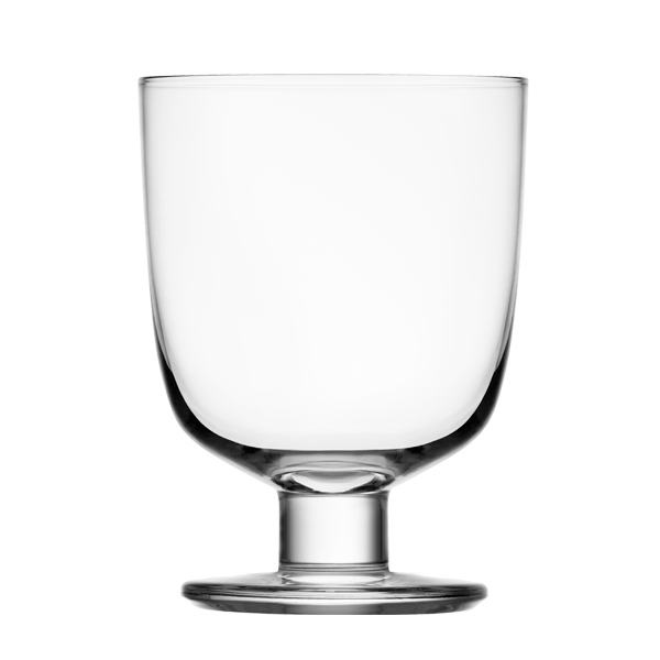 Iittala Lempi glass, clear, set of 2
