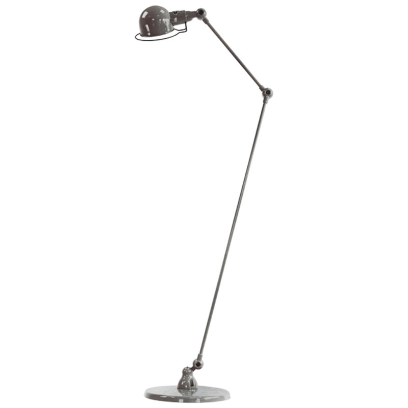 Jieldé Signal SI833 floor lamp, brushed steel