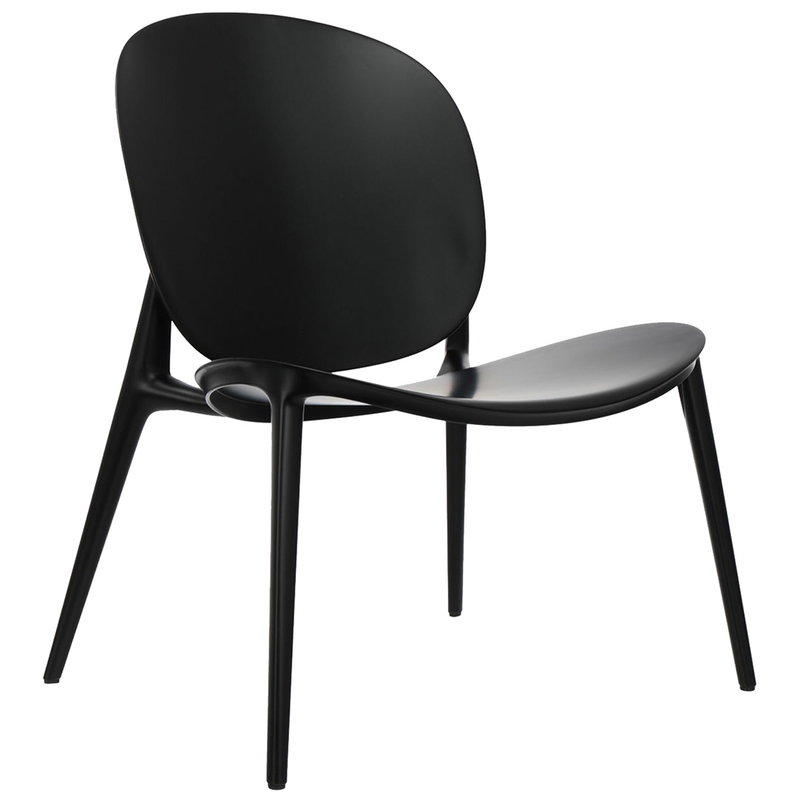 Kartell Be Bop lounge chair, black