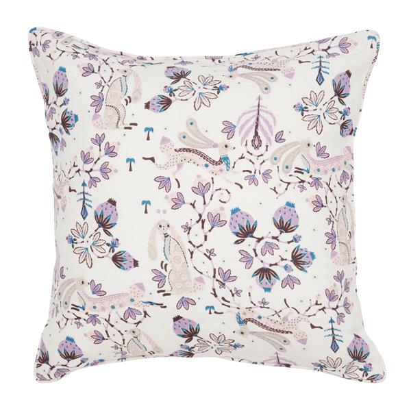 Klaus Haapaniemi Rabbit cushion cover, linen, white