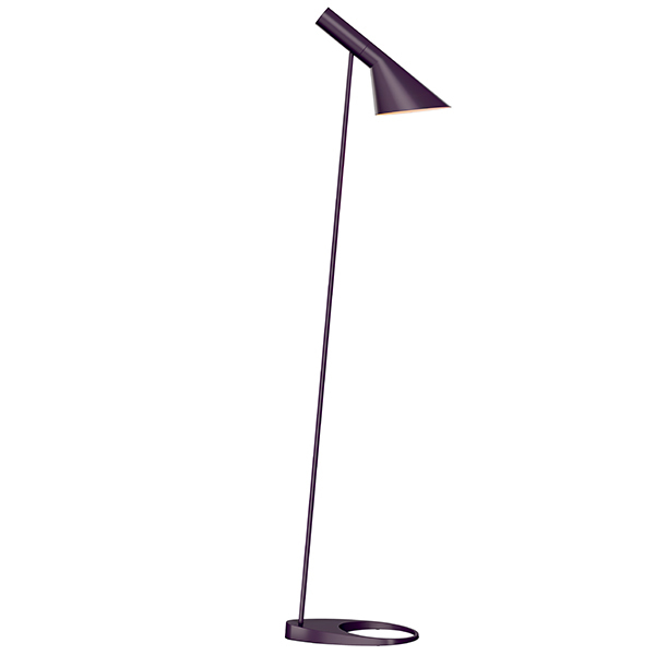 louis poulsen aj floor lamp aubergine finnish design shop. Black Bedroom Furniture Sets. Home Design Ideas