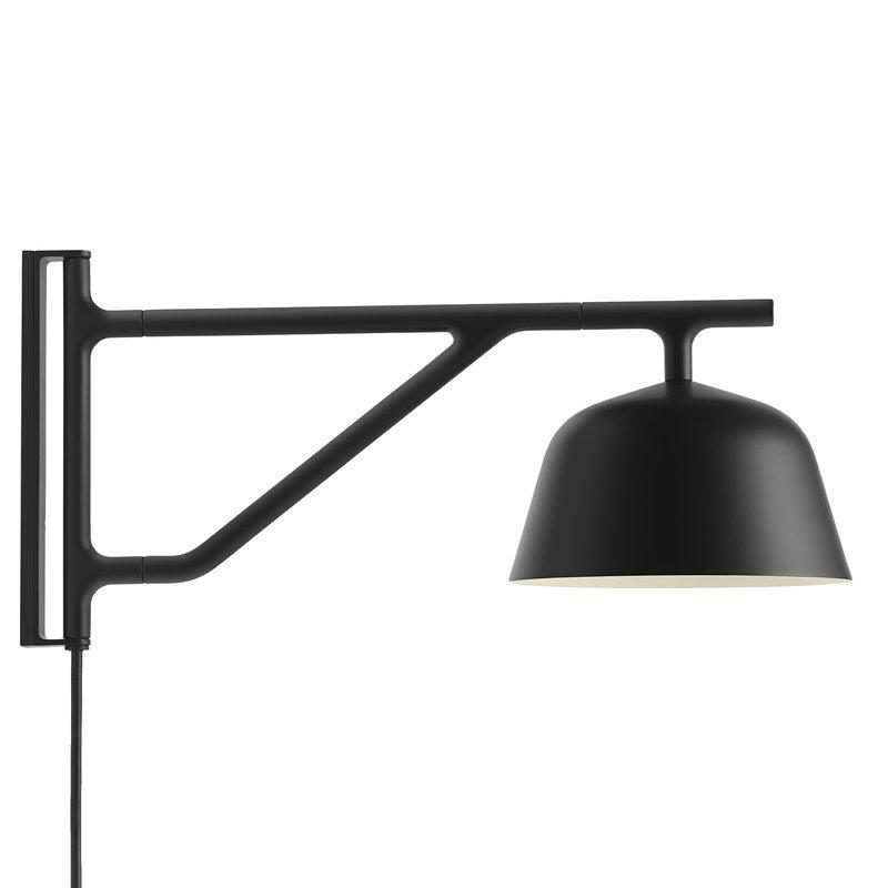 Muuto Ambit wall lamp, black