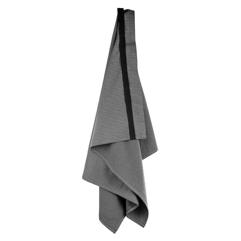 The Organic Company Wellness giant towel, dark grey
