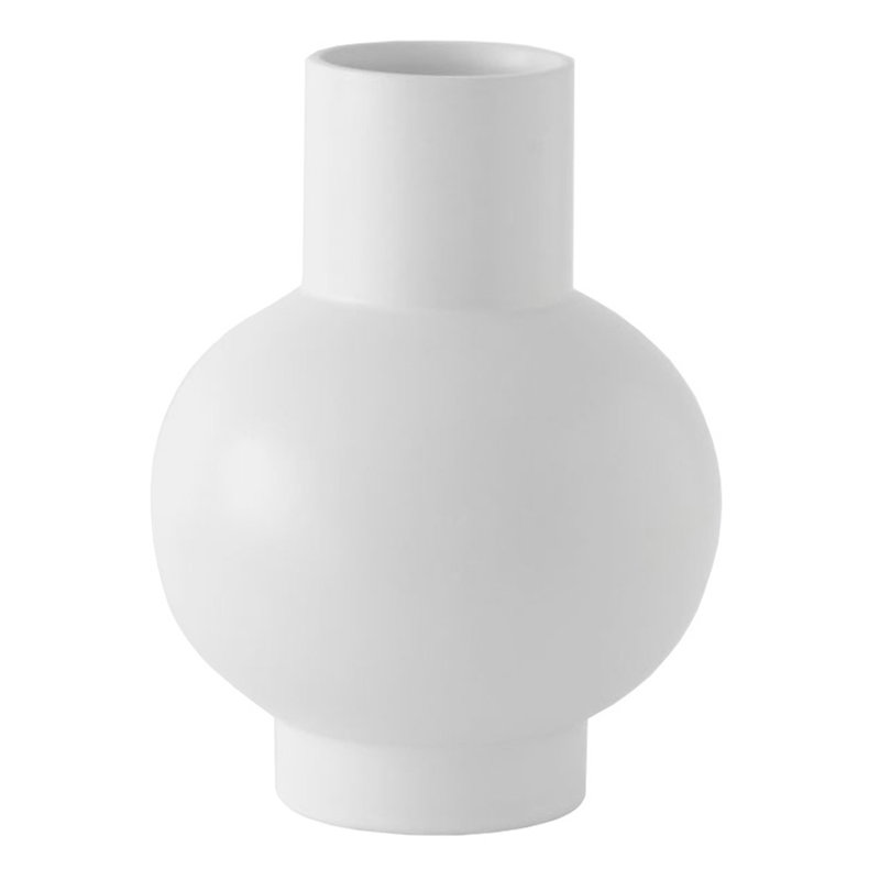 Raawii Strøm vase, vaporous grey