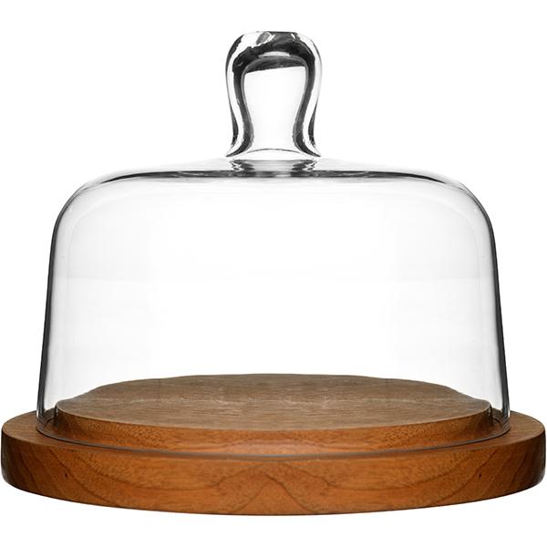 Sagaform Oak cheese dome