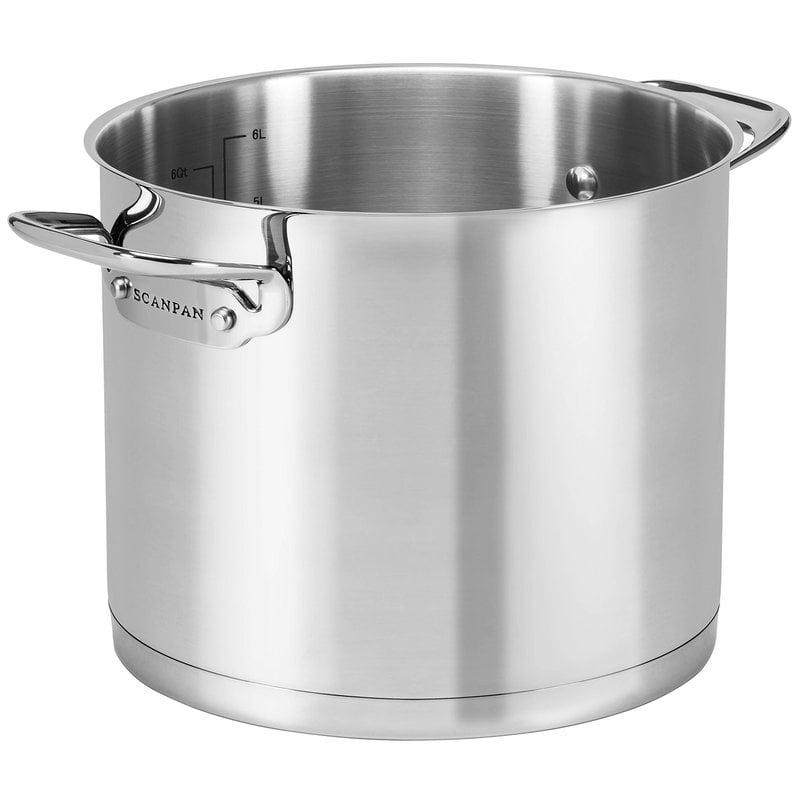 Scanpan TechnIQ Stock pot, 22 cm, 6,8 L