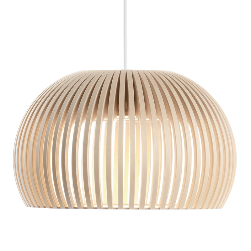 Secto Design Atto 5000 pendant, birch