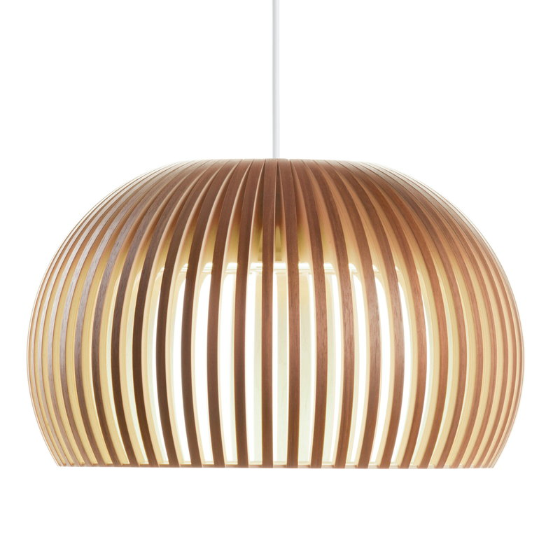 Secto Design Atto 5000 pendant, walnut