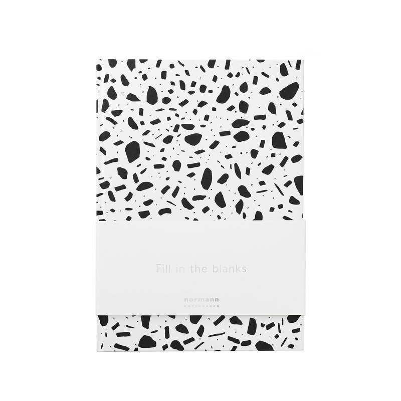 Normann Copenhagen Daily Fiction notebook, small, serious structure