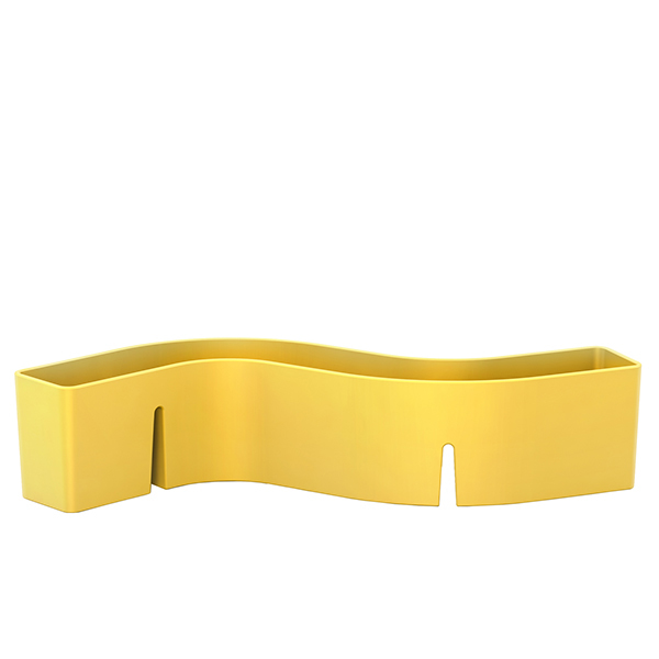 Vitra S-Tidy organizer, yellow