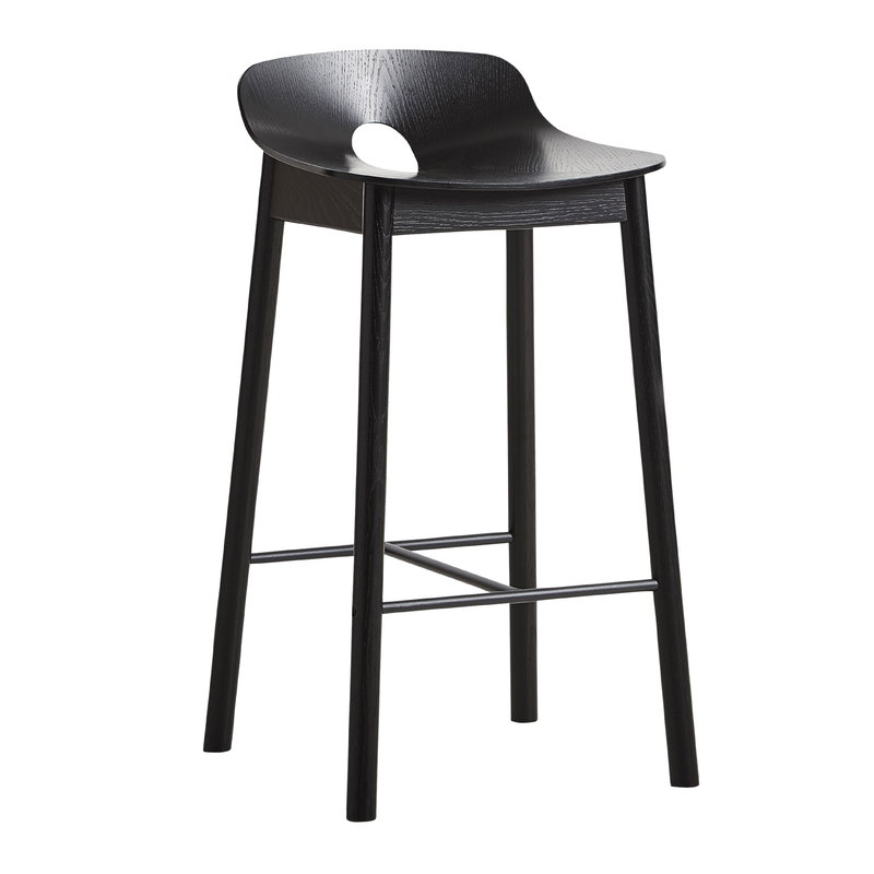Pleasing Mono Bar Stool 65 Cm Black Inzonedesignstudio Interior Chair Design Inzonedesignstudiocom