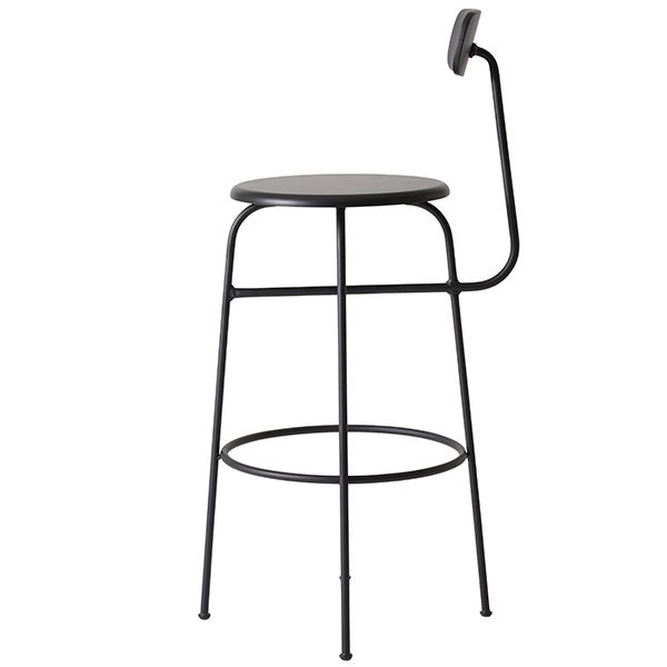 Menu Afteroom bar chair, black