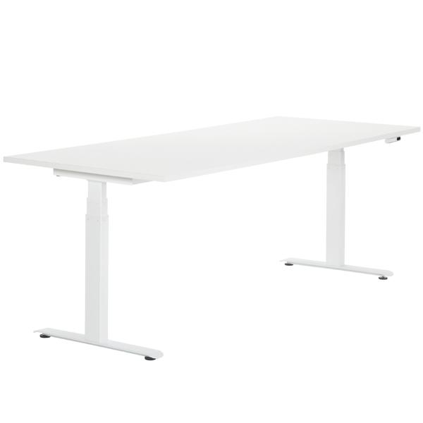 Adi 24/7 electric table, white