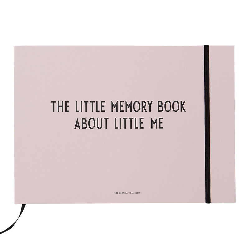 Design Letters The Little Memory Book about Little Me, rosa