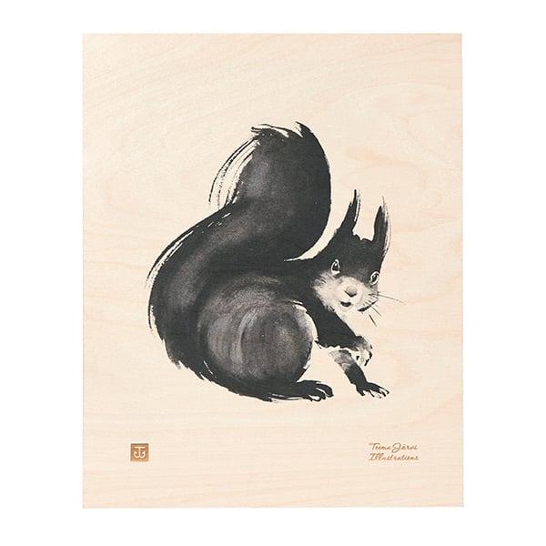 Teemu Järvi Illustrations Orava vanerijuliste