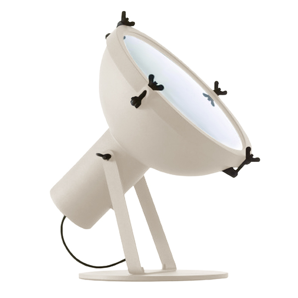 Nemo Lighting Projecteur 365 floor lamp, white sand