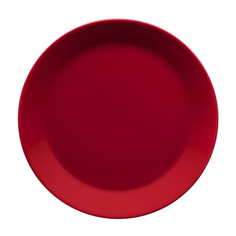 Iittala Teema plate 21 cm, red
