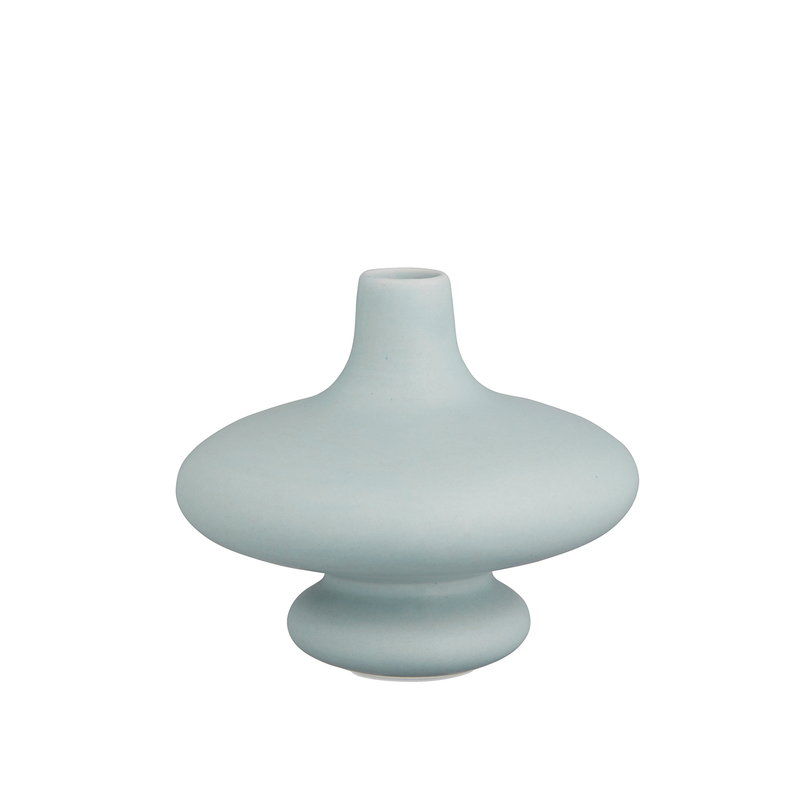 Kähler Kontur vase 14 cm, blue