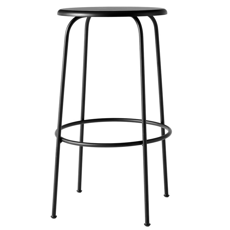 Menu Afteroom bar stool, black