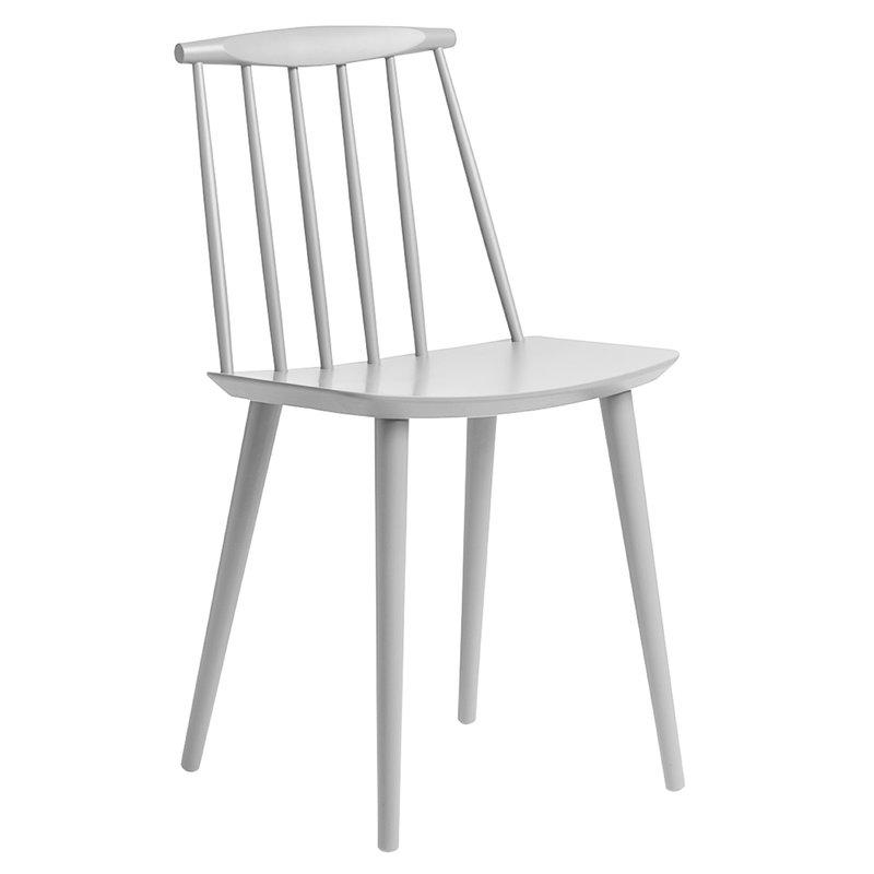 Hay J77 chair, dusty grey