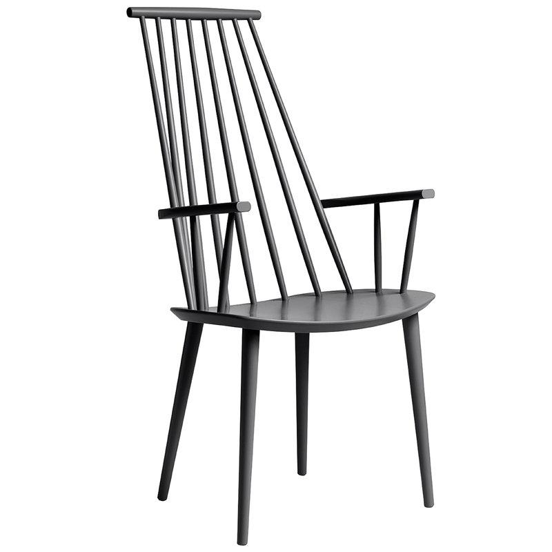 Hay J110 chair, stone grey