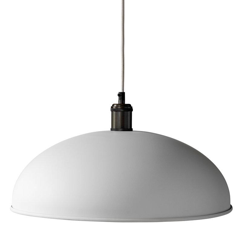 Menu Lampada a sospensione Tribeca Hubert 45 cm, bianca