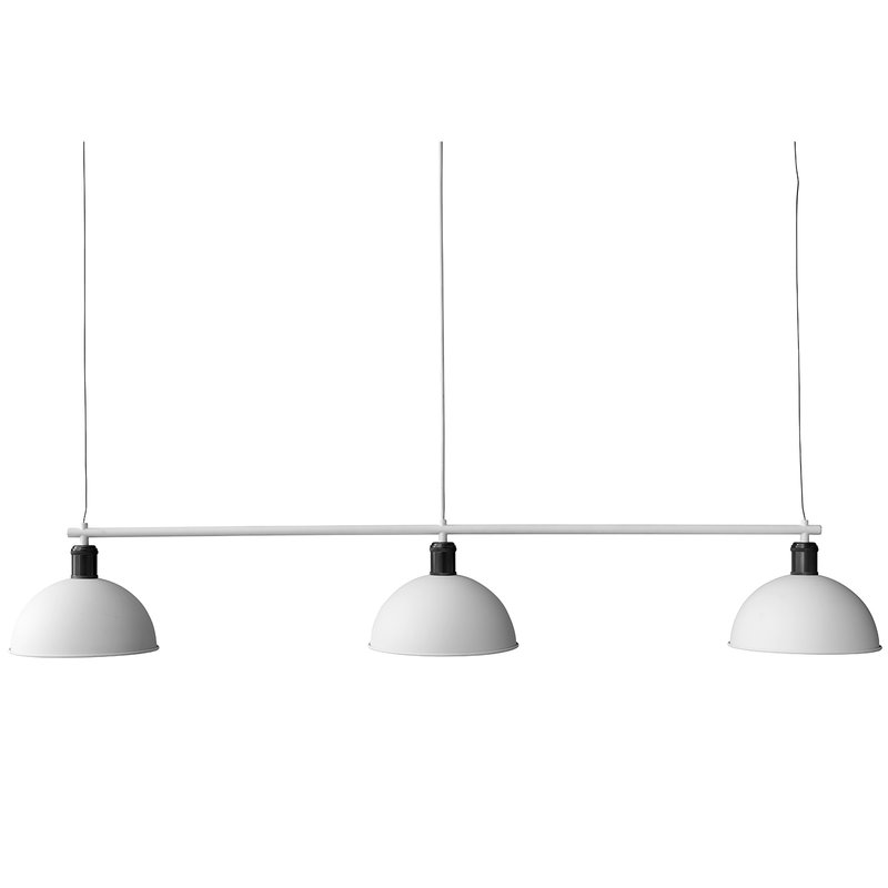 Menu Tribeca Hubert pendant with suspension frame, white