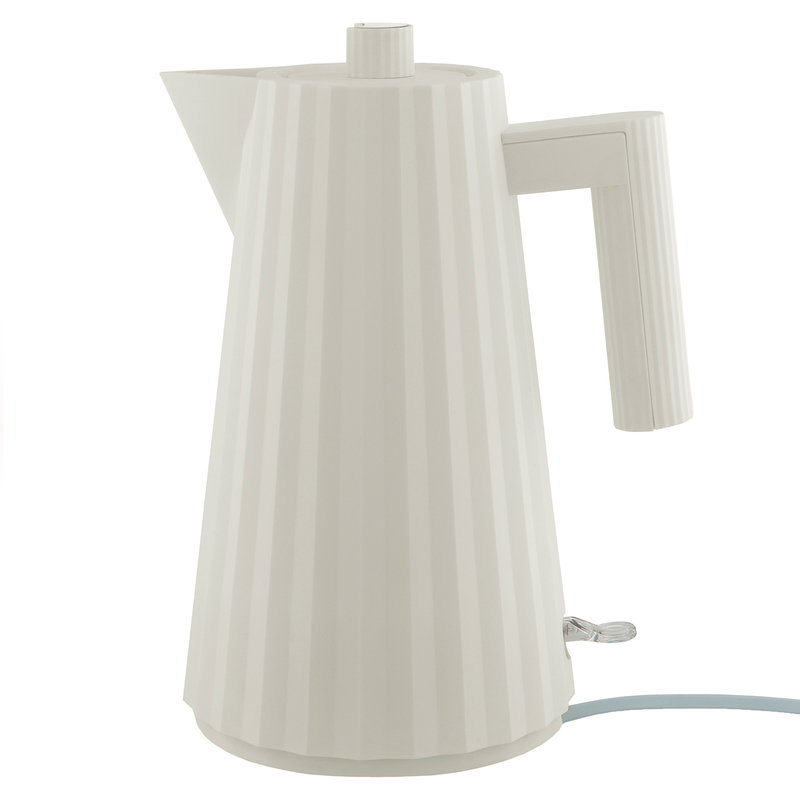 Alessi Plissé electric kettle 1,7 L, white