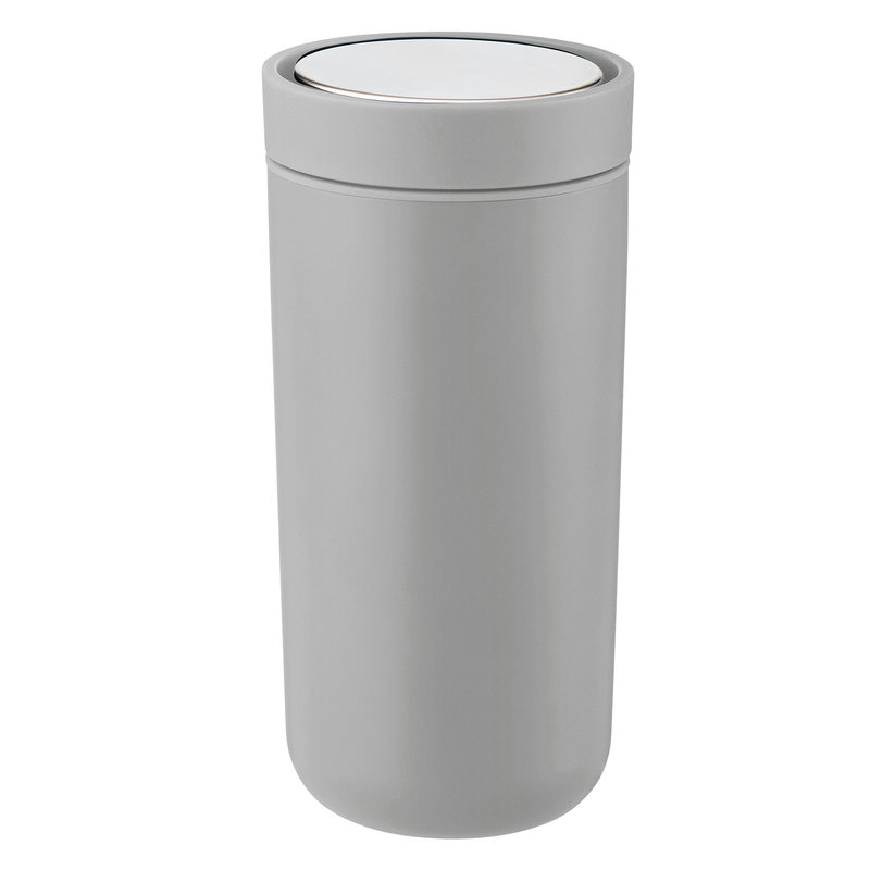 Stelton To Go Click thermo cup, light grey