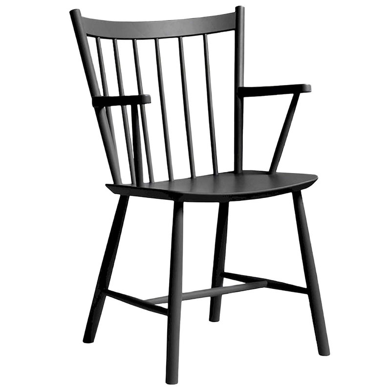J42 chair, black
